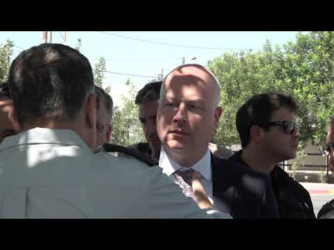 Jason Greenblat visits Jalameh crossing