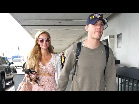 Thumbnail: Paris Hilton Nods Her Head When Asked If Chris Zylka Is 'The One' At LAX