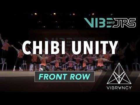 [1st Place] Chibi Unity | 2017 VIBE JRS [@VIBRVNCY Front Row 4K] #vibejrs
