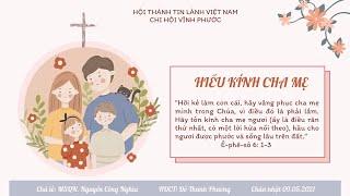 HTTL VĨNH PHƯỚC - Chương Trình Thờ Phượng Chúa - 09/05/2021