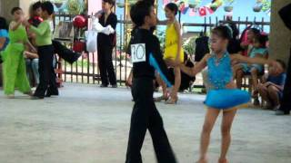 JASMINE KATE BACSIN LABRA & VINCENT CANDO, DANCESPORT CHAMPION-JUNIOR LATIN CLOSED CATEGORY