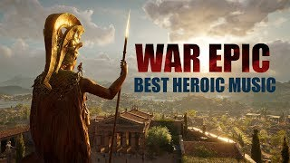 """WAR EPIC MUSIC! """"AGE OF HEROES"""" BEST MILITARY COLLECTION! MIX 2018"""