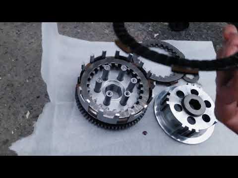 Замена дисков сцепления на китайском двухсоткубовом мотоцикле Спарк СП200Р 25