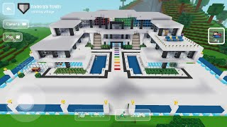 Visiting Insane Mansion -  Block Craft 3d: Building Simulator Games for Free screenshot 1