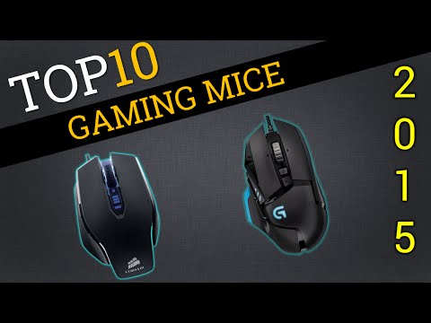 Top Ten Gaming Mice 2015 | Compare Best Gaming Mice