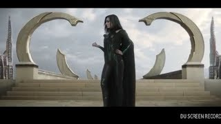 Hela fights an army scene - Thor RAGNAROK
