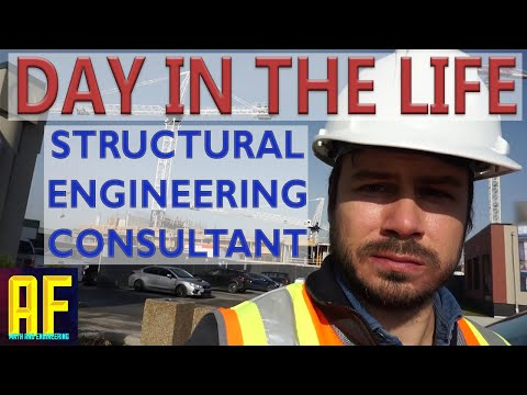 Day in the Life of a Structural Engineering Consultant (Civil Engineer)