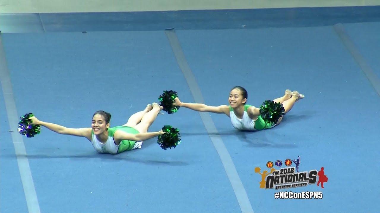 20efe65b787f All Girl College Pom Pairs - Team Green DLS Lipa