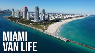 Van Trouble Driving To To Miami \u0026 We Saw A Manatee - Van Life Ep 24