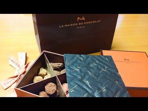 4 3 16 .. I found my daughter's treasure, Ultra-Expensive La Maison du Chocolat Assortiment Truffle