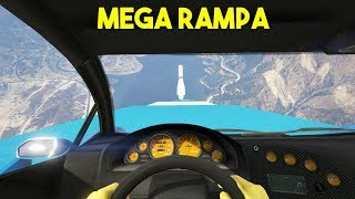 MEGA RAMPA IMPOSIBLE! EN PRIMERA PERSONA! - GTA V ONLINE