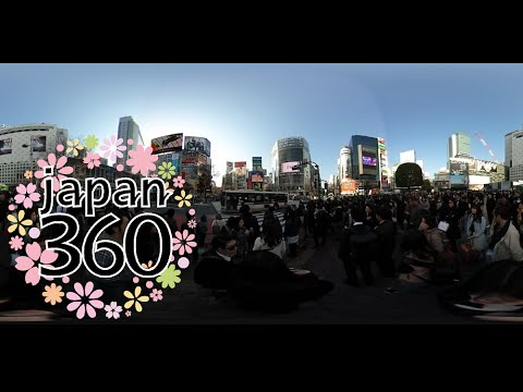 Walking Through Shibuya Crossing With VR Shibuya Tokyo - Journey through tokyo and space in this incredible 360 video