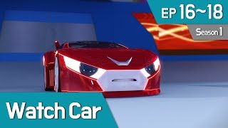 Power Battle Watch Car S1 EP 16~18 (English Ver)
