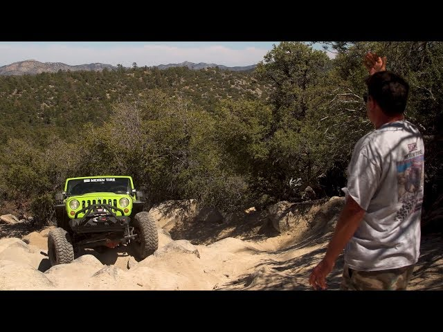 Big Bear Jeep Off Roading with Don Alexander Part 2