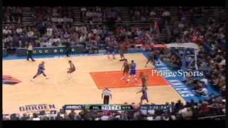 Carmelo Anthony Makes NYC Debut -(Knicks/Bucks Clips)
