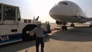 ANA flies Boeing 787 on airline routes