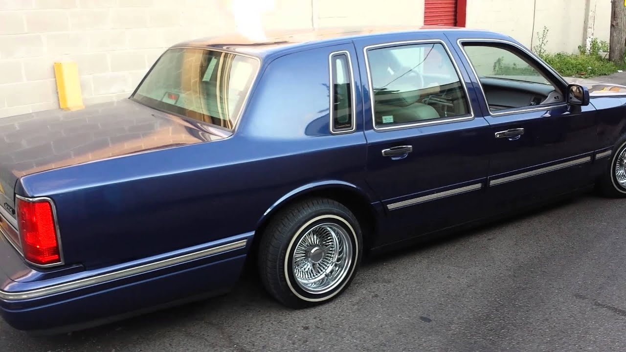Low Rider Lincoln Town Car Youtube