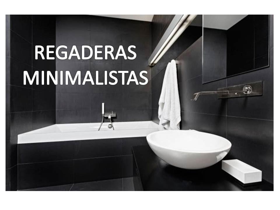 REGADERAS MODERNAS