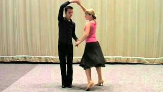 Základní taneční - Mazurka.mpg