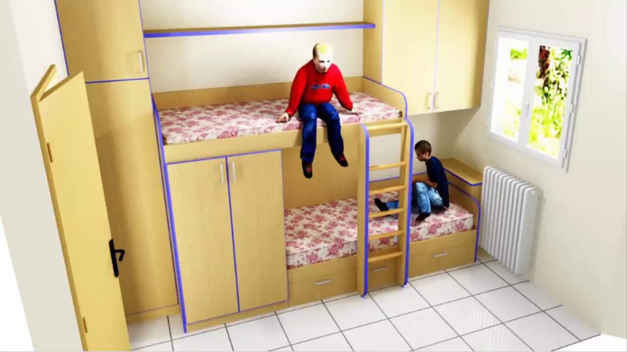 Como hacer una cama tren. - YouTube