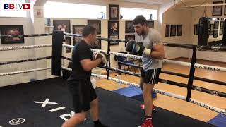 TOMMY FURY 'TYSON'S YOUNGEST BROTHER' TRAINING FOR HIS PRO-DEBUT ON WARRINGTON-FRAMPTON BILL