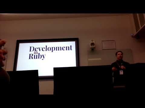 Running a Government Department on Ruby for over 12 Years - Jeremy Evans [Unofficial Video]