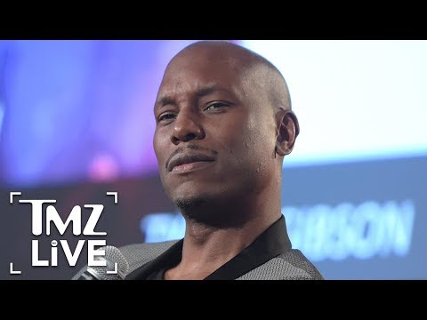 Tyrese: Major Money Problems I TMZ LIVE