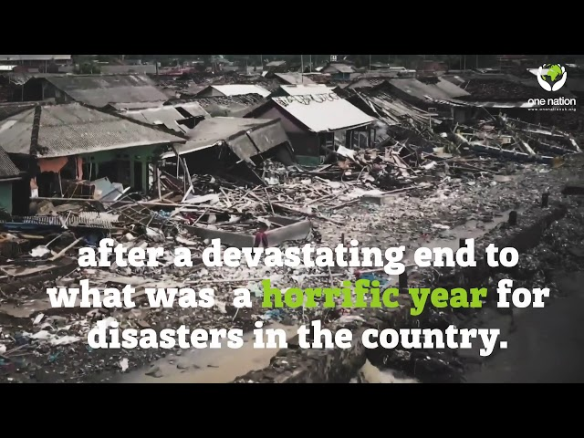 Tsunamis and Earthquakes In Indonesia have left thousands of people in need of urgent aid