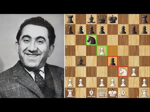 Petrosian's 8 Move Miniature against a Grandmaster