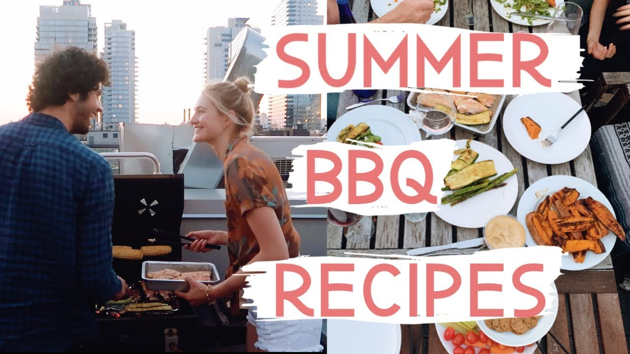 Healthy Summertime BBQ Recipes | Quick & Easy, 4th of July, & Friends | Sanne Vloet