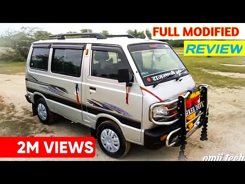 Modified Maruti Omni 2019 Omji technical India