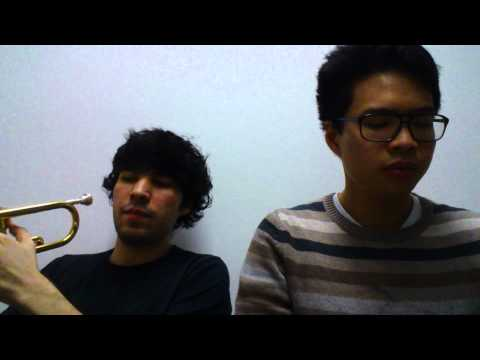 Alive - Hillsong Young & Free: Keyboard & Trumpet Cover