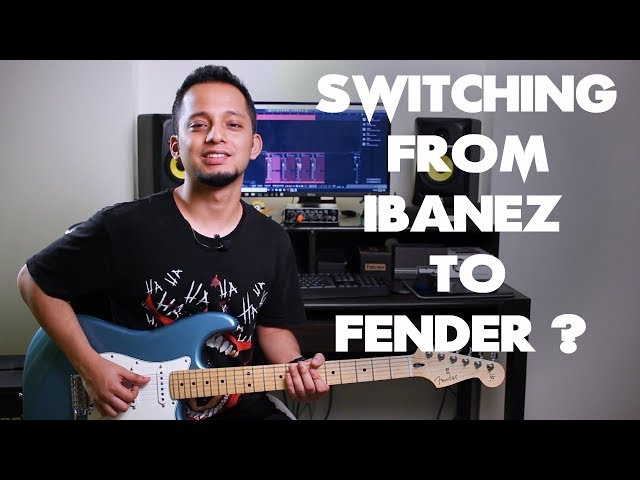 Moving from Ibanez RG to a Fender Stratocaster | Comparison | How does it feel?