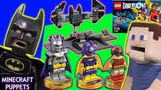 Lego Dimensions 2 The Batman Movie Story Pack, Batgirl, Knight Rider Excalibur Review, First Look