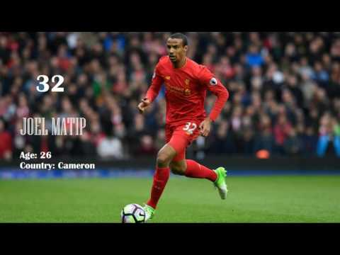 Liverpool Squad 2017 2018