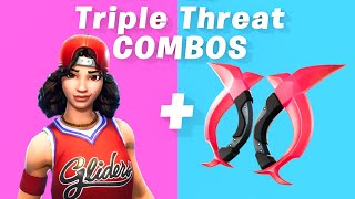 7 Best Triple Threat Skin + backbling combos in Fortnite