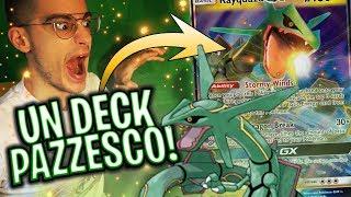 Il deck di RAYQUAZA-GX sembra NON PERDERE MAI! | Pokémon TCG Online ITA