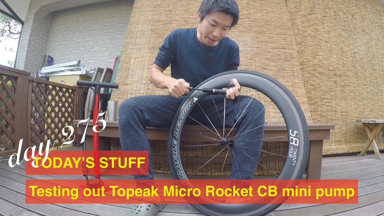 Aluminum NEW Topeak Micro Rocket Master Blaster Frame Pump