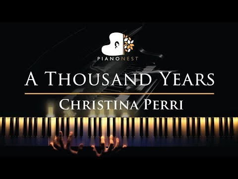 Christina Perri - A Thousand Years - Piano Karaoke  Sing Along Cover with