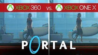 Portal Comparison - Xbox 360 vs. Xbox One X