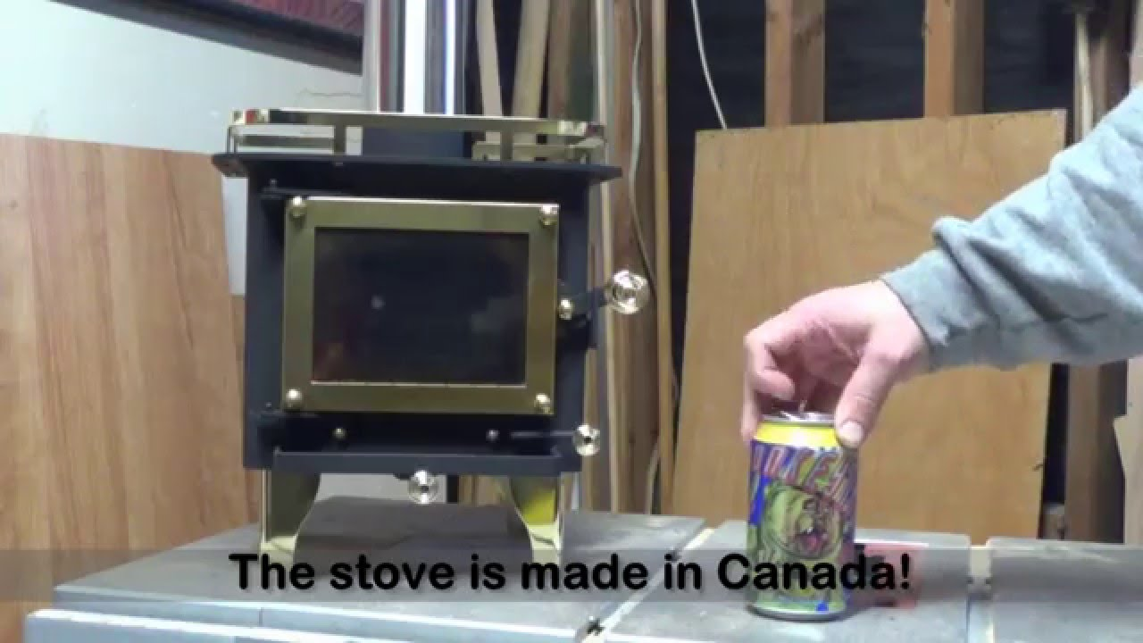 - Cubic Mini Wood Stove Unboxing & First Fire - YouTube