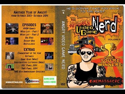 angry video game nerd dvd volume 1