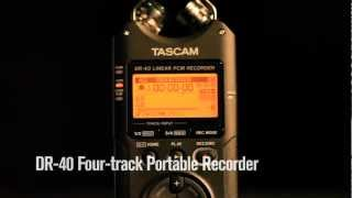 Recording audio for DSLR Filmmaking with TASCAM