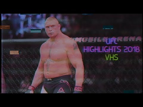 Brock Lesnar— UFC Highlights 2018 VHS