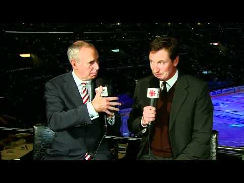 HNIC Wayne Gretzky Interview with Ron MacLean