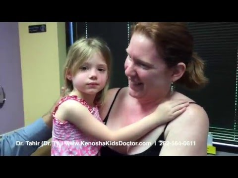 Painless And Safe Ear Piercing For Kids. 3 years old