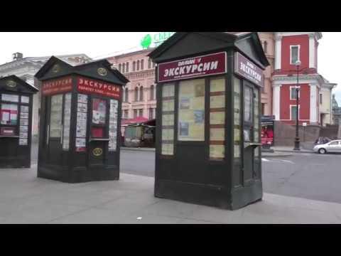 Санкт-Петербург пешком. Улица Ломоносова. Садовая улица. Московский проспект. Лиговский проспект