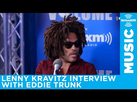 Lenny Kravitz full interview with Eddie Trunk on Trunk Nation 🤘