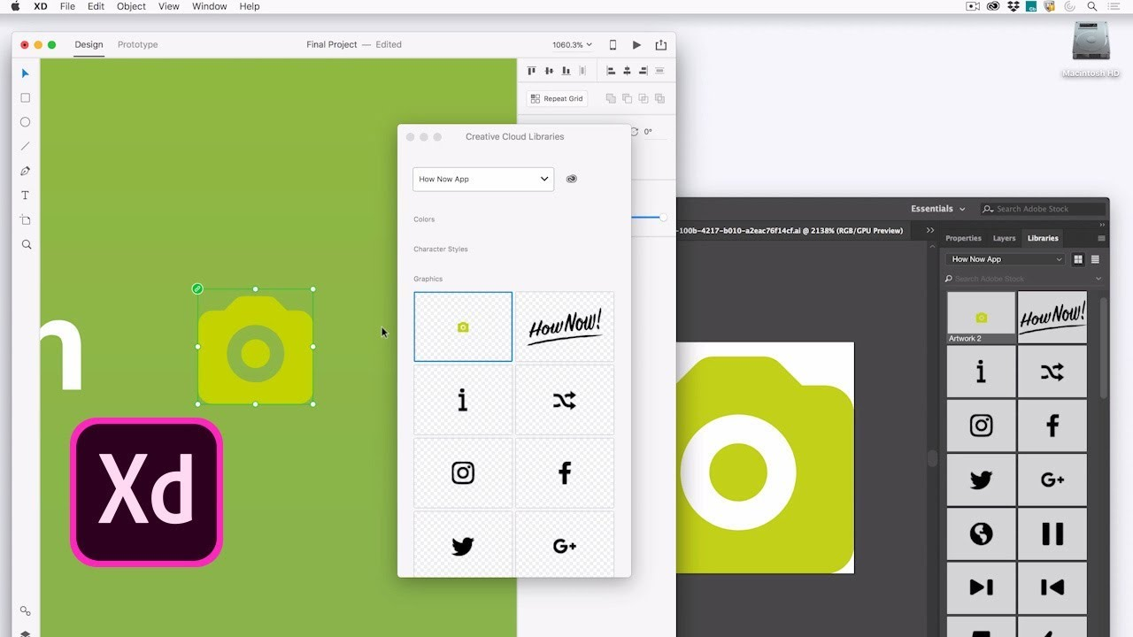 Adobe XD: Download Free Icon Kits Made by Legendary Designers
