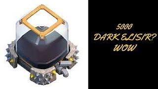 Clash of Clans: 5000 dark elixir/5000 elisir nero
